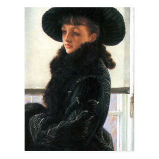 Portrait of Kathleen Newton by James Tissot Postcard