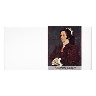 Portrait Of Lady Margaret Wyatt Lee Photo Card Template