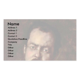 Portrait Of Laforce By Grigorescu Nicolae Pack Of Standard Business Cards