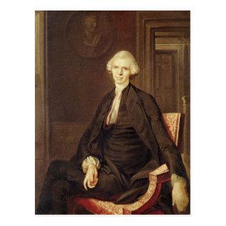 Portrait of Laurence Sterne Postcard