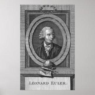 Portrait of Leonard Euler Poster