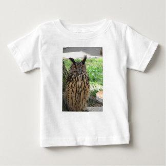 Portrait of long-eared owl . Asio otus, Strigidae Baby T-Shirt