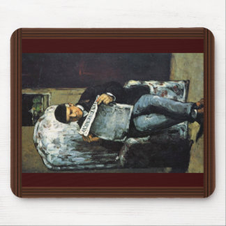Portrait Of Louis-Auguste Cézanne, The Father Of T Mouse Pad