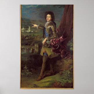 Portrait of Louis Auguste de Bourbon Poster