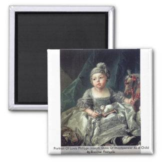 Portrait Of Louis Philippe Joseph Magnet