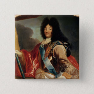 Portrait of Louis XIV 2 15 Cm Square Badge