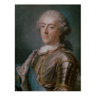 Portrait of Louis XV  King of France Postcard