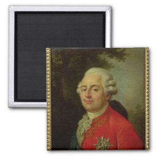 Portrait of Louis XVI  King of France Magnet