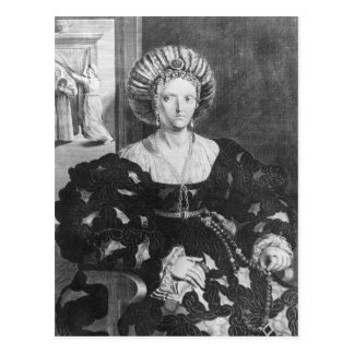 Portrait of Lucrezia Borgia Postcard