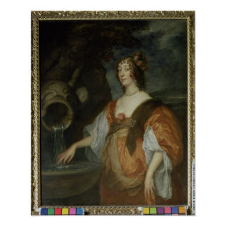 Portrait of Lucy Percy, Countess of Carlisle Poster