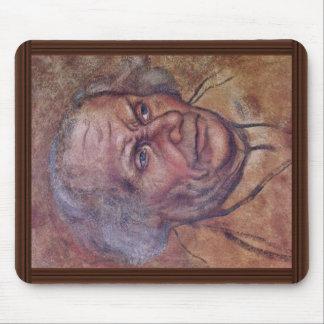 Portrait Of Luther'S Father By Cranach D. Ä. Lucas Mouse Pad