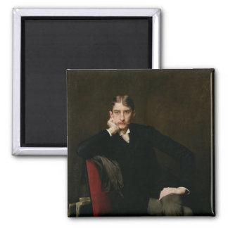 Portrait of M. Fitzgerald, 1889 Magnet