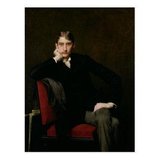 Portrait of M. Fitzgerald, 1889 Postcard