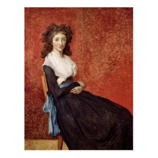 Portrait of Madame Charles-Louis Trudaine Postcard