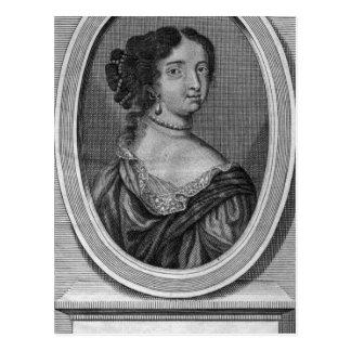 Portrait of Madame de Maintenon Postcard
