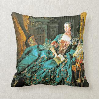 Portrait of Madame de Pompadour Cushion
