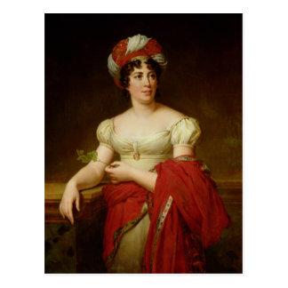 Portrait of Madame de Stael Postcard