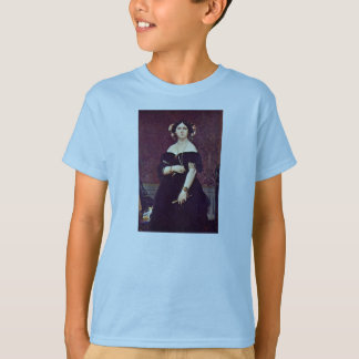 Portrait Of Madame Moitessier By Ingres Jean Augus T-Shirt