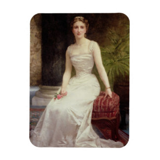 Portrait of Madame Olry-Roederer, 1900 (oil on can Rectangular Photo Magnet