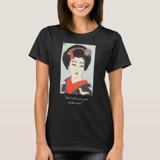 Portrait of Maiko Shunsen Natori japanese fine art T-Shirt