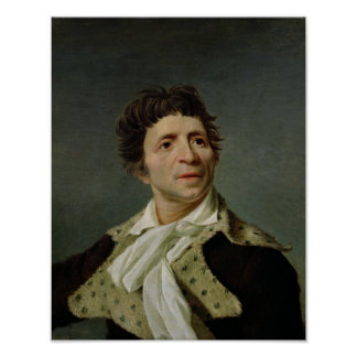 Portrait of Marat  1793 Poster