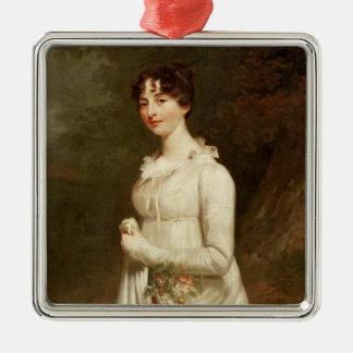 Portrait of Marcia. B. Fox Metal Ornament