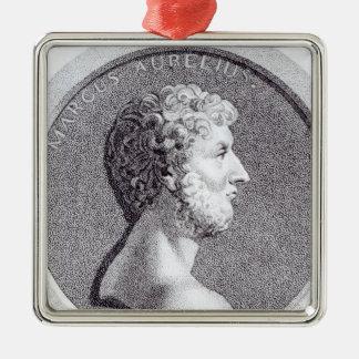 Portrait of Marcus Aurelius Metal Ornament