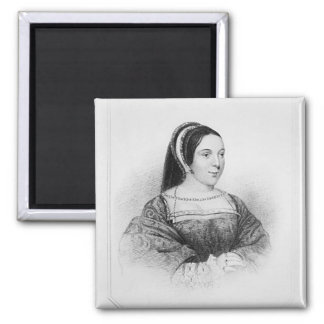Portrait of Margaret Tudor  Queen of Scotland Magnet