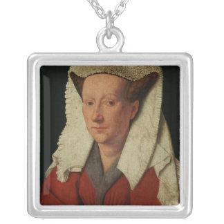 Portrait of Margaret van Eyck, 1439 Custom Jewelry
