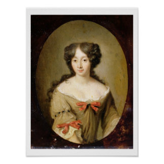 Portrait of Marie-Anne Mancini (1646-1714) c.1670 Poster