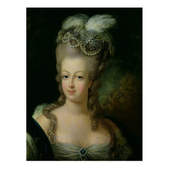 Portrait of Marie-Antoinette Postcard
