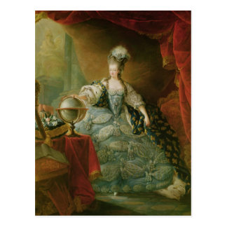 Portrait of Marie Antoinette  Queen of France Postcard