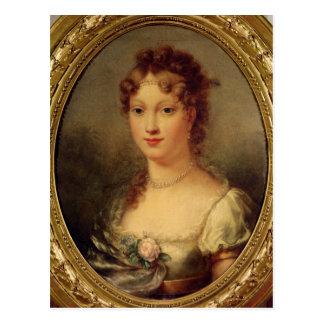 Portrait of Marie-Louise de Hapsburg-Lorraine Postcard