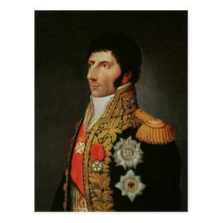 Portrait of Marshal Charles Jean Bernadotte Postcard