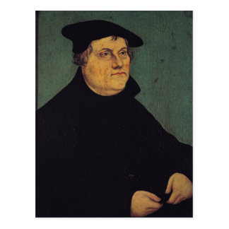 Portrait of Martin Luther  1543 Postcard