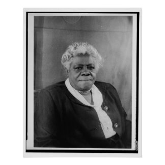 Portrait of Mary McLeod Bethune Poster
