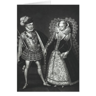 Portrait of Mary Queen of Scots Card