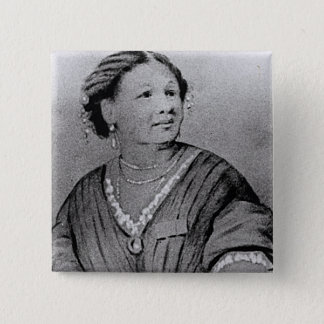 Portrait of Mary Seacole 15 Cm Square Badge
