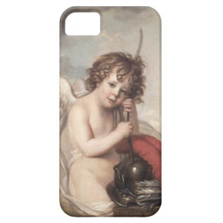 Portrait of Master Oswald Fawcett as Cupid (oil on iPhone 5 Covers