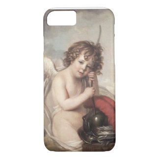 Portrait of Master Oswald Fawcett as Cupid (oil on iPhone 7 Case