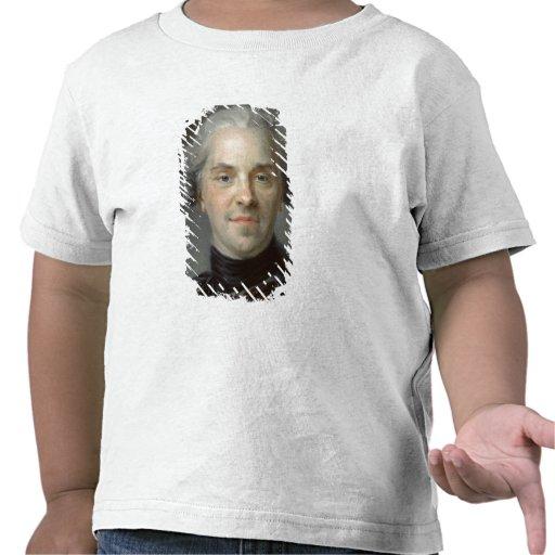 Portrait of Maurice, Comte de Saxe  1747 T Shirt