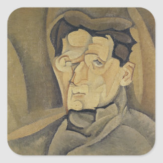 Portrait of Maurice Raynal  1911 Square Sticker