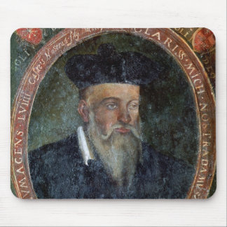 Portrait of Michel de Nostradame Mouse Pad