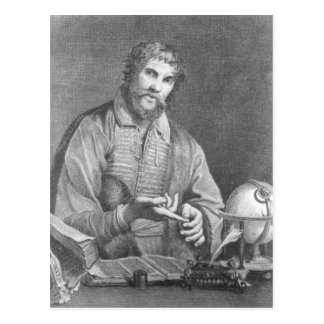 Portrait of Michel de Nostradame Postcard