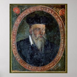 Portrait of Michel de Nostradame Poster