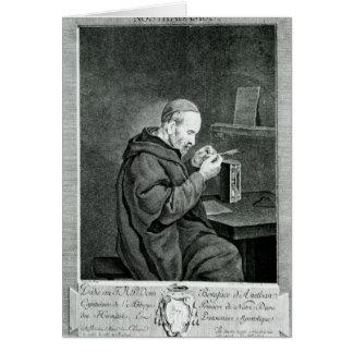 Portrait of Michel Nostradamus Card