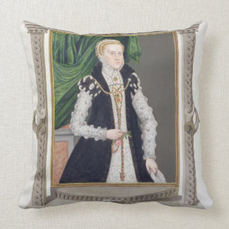 Portrait of Mildred Cooke, Lady Burghley from 'Mem Cushions
