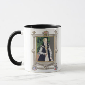 Portrait of Mildred Cooke, Lady Burghley from 'Mem Mug