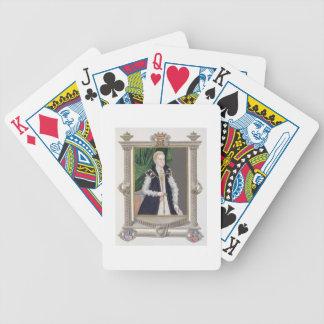 Portrait of Mildred Cooke, Lady Burghley from 'Mem Poker Deck