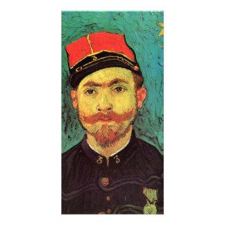 Portrait of Milliet - Vincent van Gogh Photo Card Template